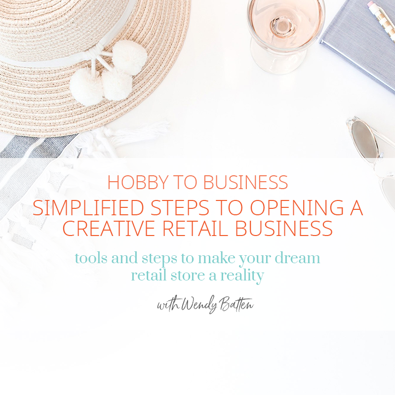 Hobby to Business Workshop with Wendy Batten