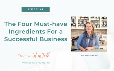 The Four Must-have Ingredients For a Successful Business   Episode 44