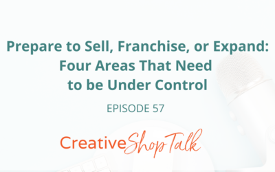 Prepare to Sell, Franchise, or Expand: Four Areas That Need to be Under Control   Episode 57