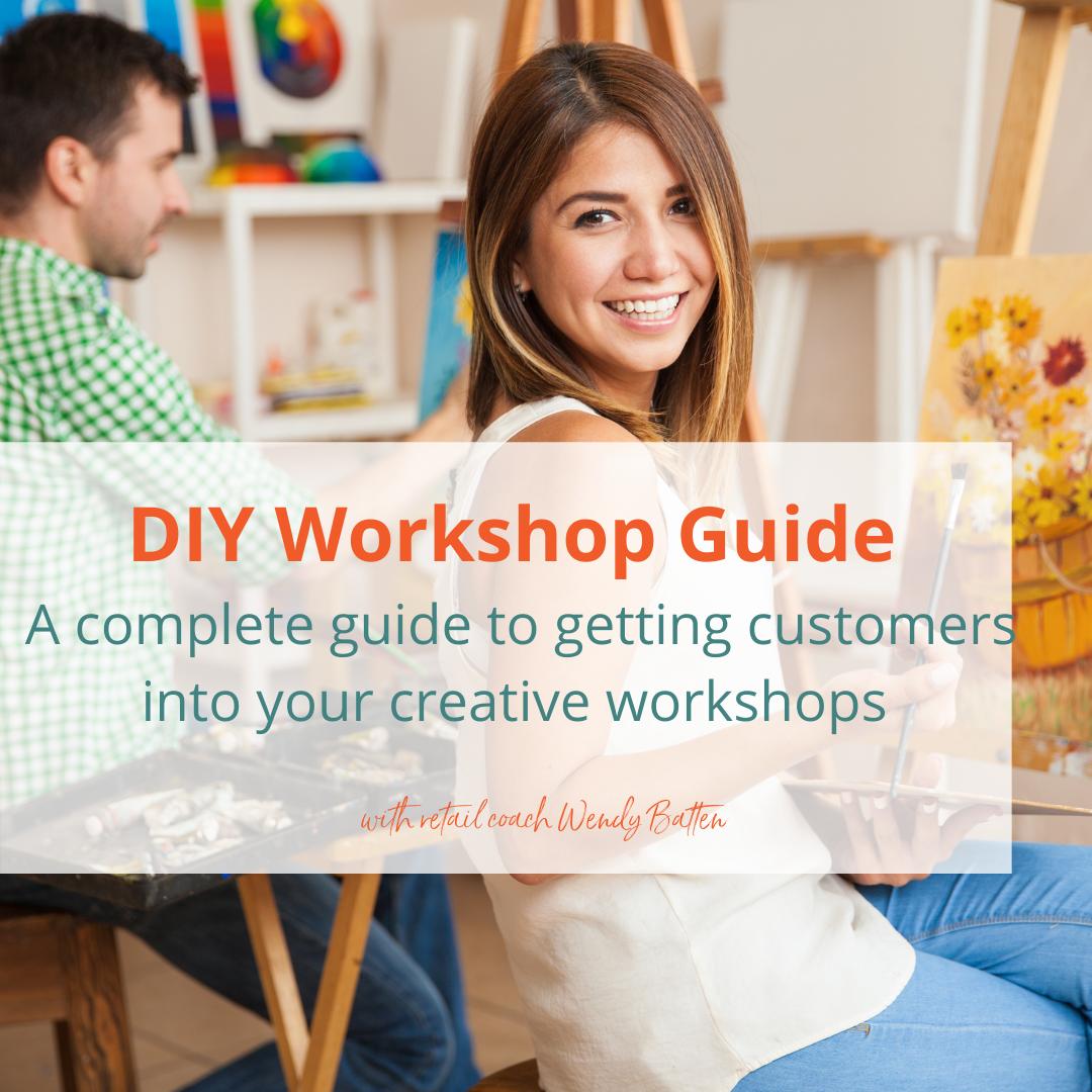 DIY Workshop Guide with coach Wendy Batten