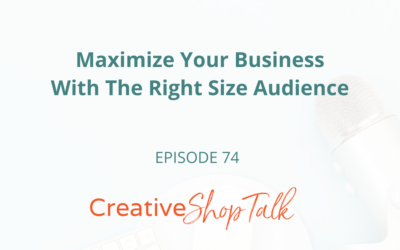 Maximize Your Business With The Right Size Audience | Episode 74